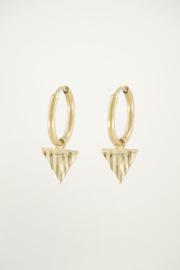 My Jewellery Oorringen bedel driehoek