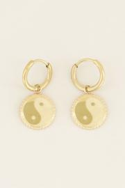 My Jewellery Oorbellen yin & yang