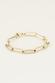 My Jewellery Armband met grote schakels