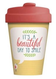 Bamboo cup Beautiful Smile