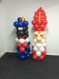 Ballonpilaar Sint en Piet