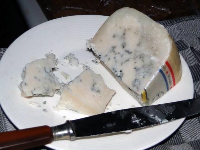 Blauwe geitenkaas (Hommage Bleu)