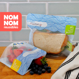 Nom nom reusables wave multipack 3