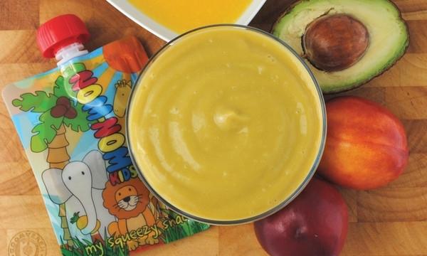 Romige Nectarine smoothie