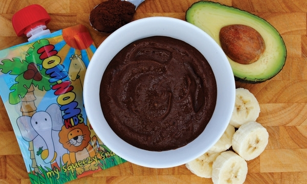 Gezonde chocolade pudding
