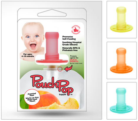 Pouchpop Assorted 4 pack