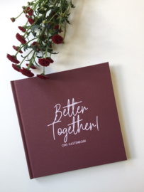 SALE gastenboek Better Together