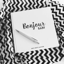 COMBI DEAL: Kraambezoekboek & Baby's eerste jaar boek