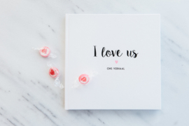 SALE I LOVE US! boek