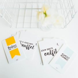 COMBI DEAL: Almost Mommy! Cards & Bonjour Baby! Cards
