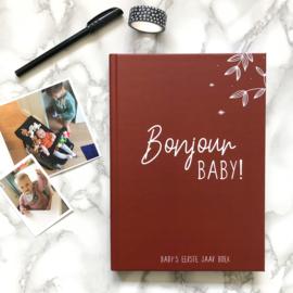 Baby's eerste jaar boek Rusty Red