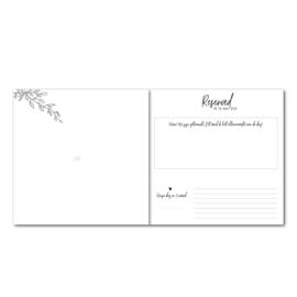 Gastenboek Sage Green gepersonaliseerd (met vragen)