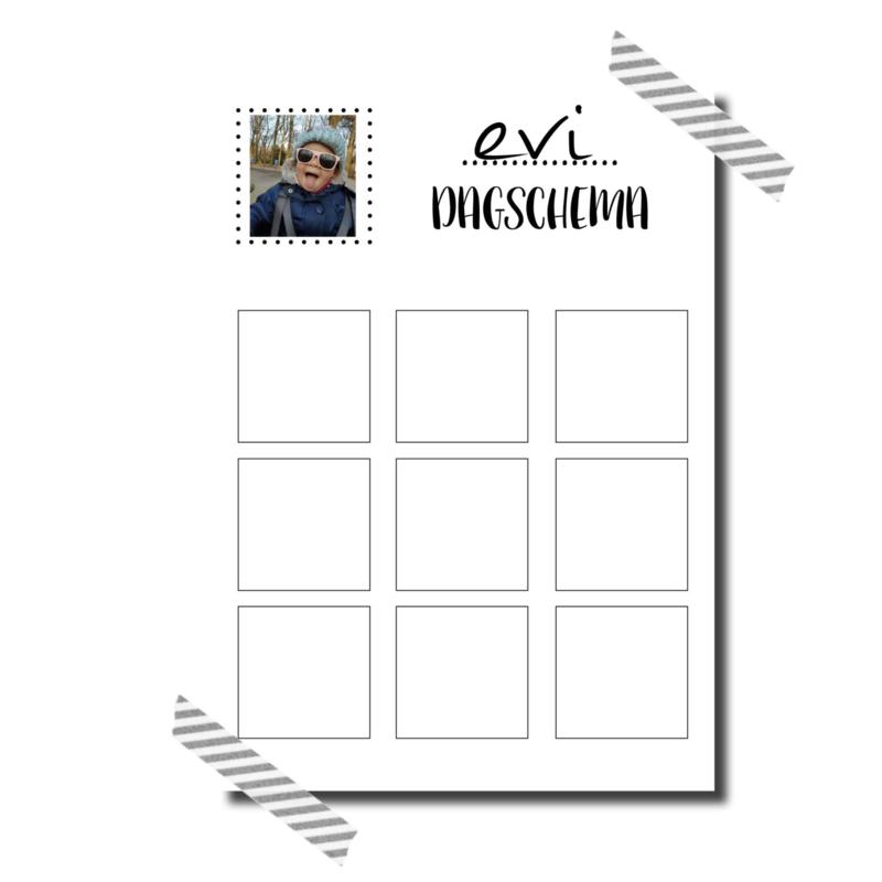 GRATIS Corona kinder dagschema template voor jou! ♥