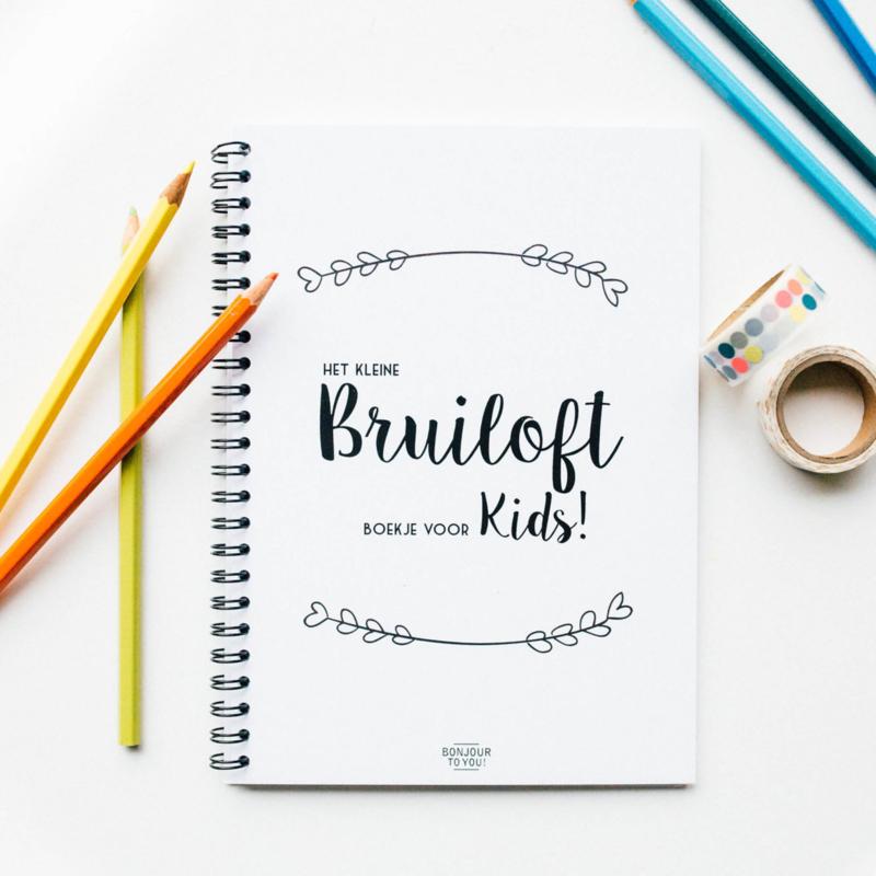 Bruiloft boekje voor KIDS