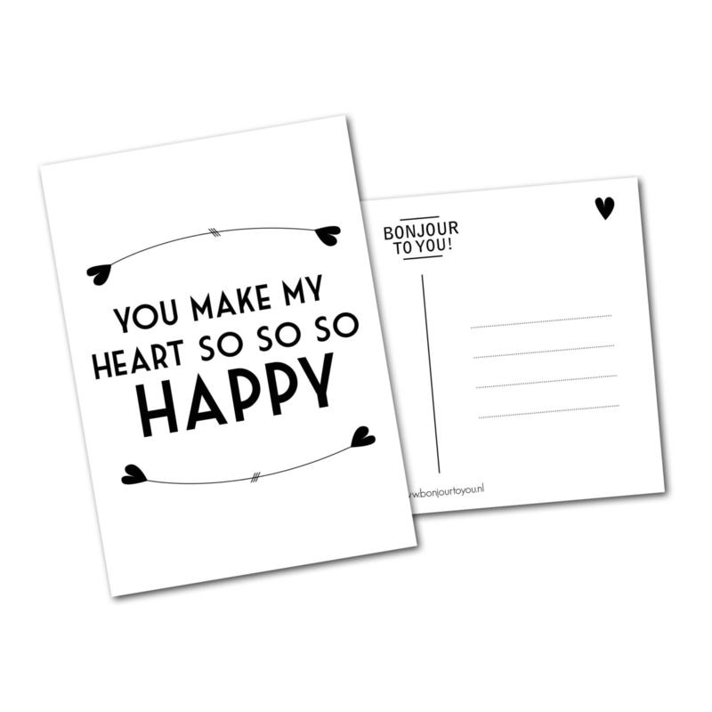 So Happy! ansichtkaart