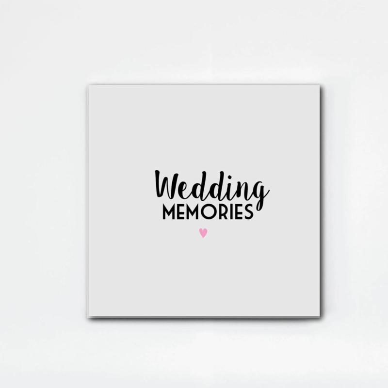 NEW: Wedding Memories invulboek