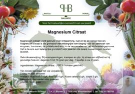 Magnesium Citraat 100 % humaan zak 1000 gram