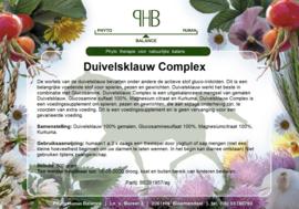 Duivelsklauw complex met o.a. kurkuma Humaan 500 gram