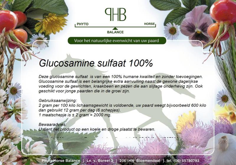 Glucosamine sulfaat 100%