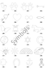 Leren armband- Gevlochten leer- Handgestempelde verborgen boodschap-Personaliseren- Roestvrijstaal sluiting