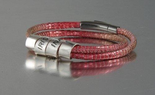 Dames armbanden- Damenarmband -Nappa wikkel armband