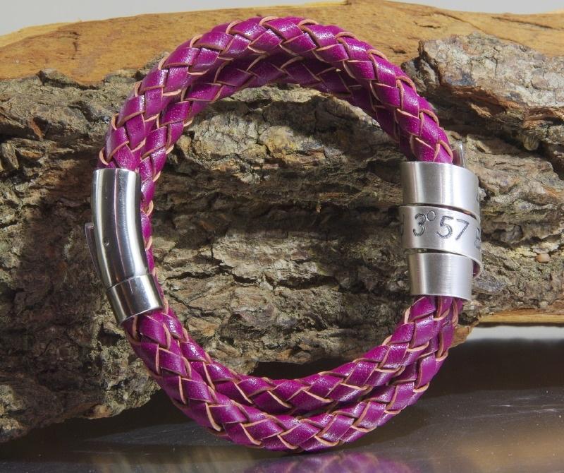 De naam of namen van jouw kind(eren) in écht zilver / Gepersonaliseerde Armband voor Mama