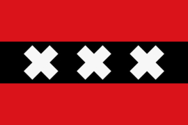 Vlag van  AMSTERDAM