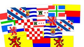 Groningse vlag provincie van Aardbevingen en het Groningse gas