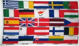 25 landen vlag van europa