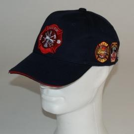 Baseball cap NYFD donkerblauw