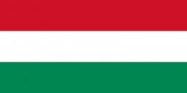 Hongarije grote  vlag  XXXL 150 x 250 cm
