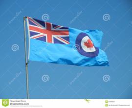 Vlag van de Royal Canadian Air Force 90x150 cm