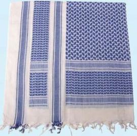 Plo sjaal blauw