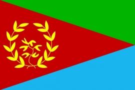 Vlag van Eritrea