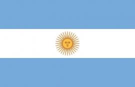Argentine grote  vlag XXXL 150 x 250 cm