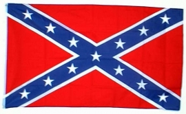 Vlag Amerika Rebel 90x150 cm