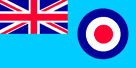 Vlag Royal Airforce