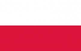 Vlag van Polen 90 x 150cm