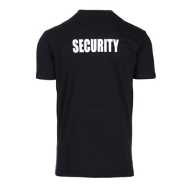 T-shirt security maat M