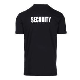 T-shirt security maat XXL