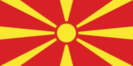 Vlag van Macedonië (Noord)