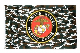 Vlag Amerika USA Marine Corps Camouflage