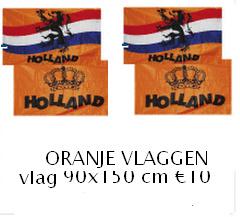 koningsdag vlag oranje
