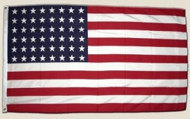 Vlag AMERIKA 48 sterren