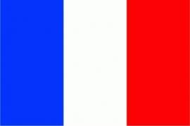 Frankrijk grote vlag XXXL 150 x 250 cm