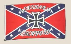 Vlag Amerika  Rebel Southern Choppers