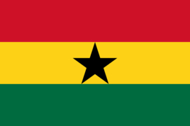 Grote vlag van Ghana