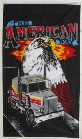 Vlaggen Amerika Truc met Adelaar,