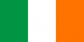 Ierland grote vlag XXXL 150 x 250 cm