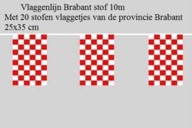 Noord Brabant Vlaggenlijn de luxe